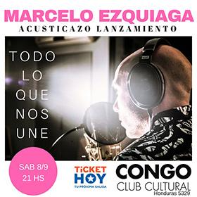 Marcelo Ezquiaga en Congo Bar