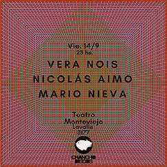 Nicolás Aimo en Teatro Monteviejo
