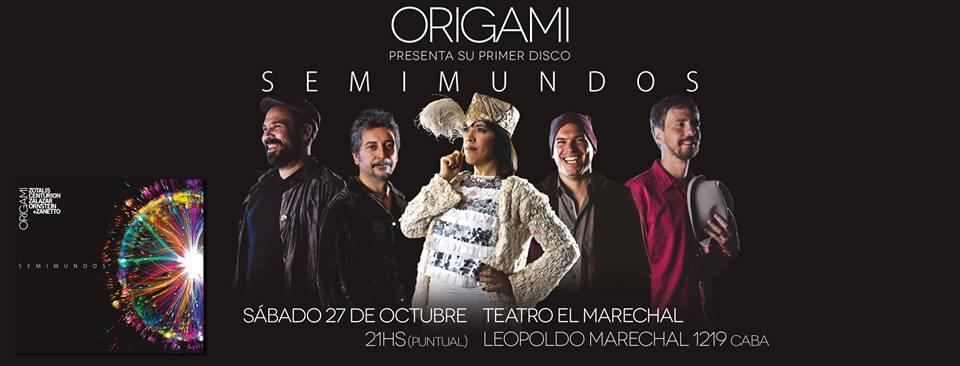 Origami en el Teatro El Marechal