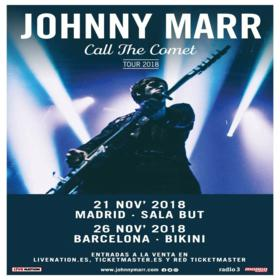 Johnny Marr en Madrid