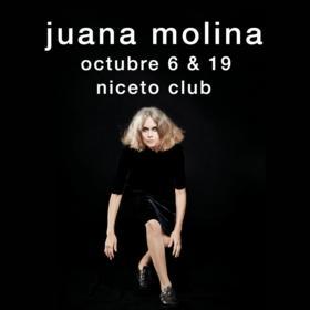 Juana Molina en Niceto Club