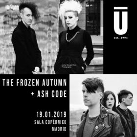 The Frozen Autumn + Ash Code en Madrid