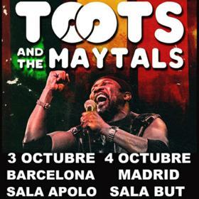 Toots & The Maytals en Barcelona