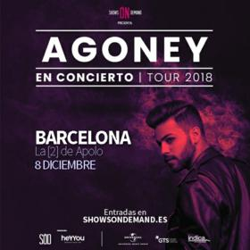 Agoney en Barcelona