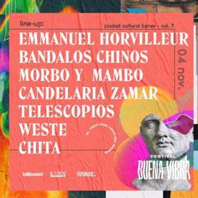 Festival Buena Vibra en el Patio del Konex