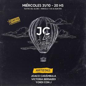 JC Live Sessions en Teatro del Globo