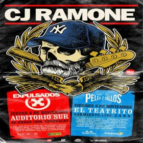 CJ Ramone en el Auditorio Sur