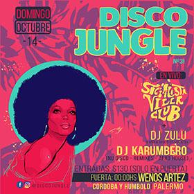 Disco Jungle en Wenos Artez