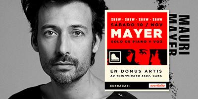 Mauricio Mayer en Domus Artis