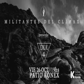Militantes del Climax en el Konex