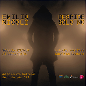 Emilio Nícoli + Caro Pacheco en JJ Circuito Cultural