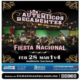 , Calendario de Conciertos en México
