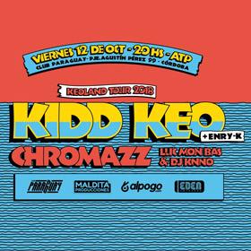 Kidd Keo en Córdoba