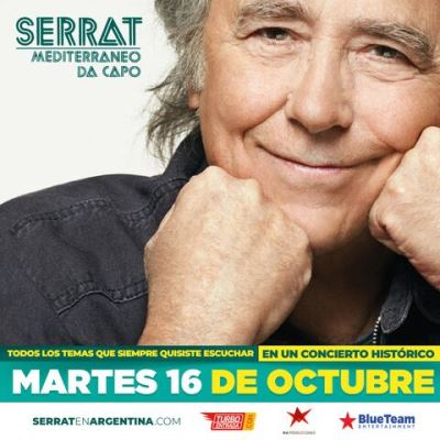 Joan Manuel Serrat en Rosario