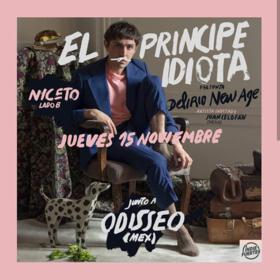 El Príncipe Idiota y Odisseo en Niceto Club (Lado B)
