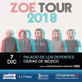 Zoé en Ciudad de México