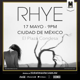 Rhye en México