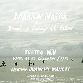 Marton Marton en Teatro Nun