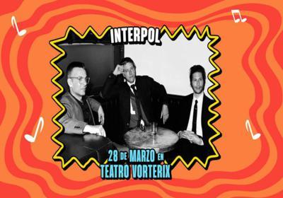 Interpol en Teatro Vorterix