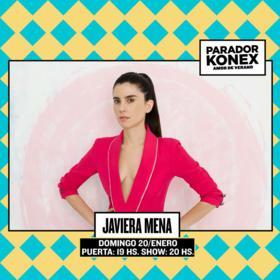 Javiera Mena en Parador Konex