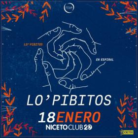 Lo' Pibitos en Niceto Club