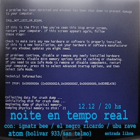 Ignatz Bee + El Negro Ricardo + Ubú Rave en Atom