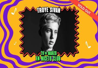 Troye Sivan en Niceto Club