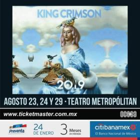 King Crimson en Ciudad de México
