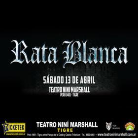 Rata Blanca en Teatro Niní Marshall