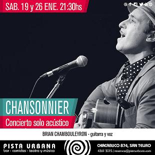 Brian Chambouleyron en Pista Urbana