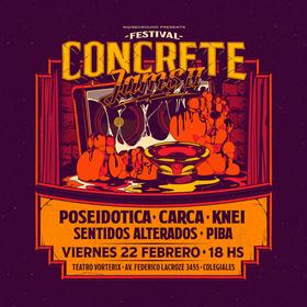 Festival Concrete Jams Vol. II en Teatro Vorterix