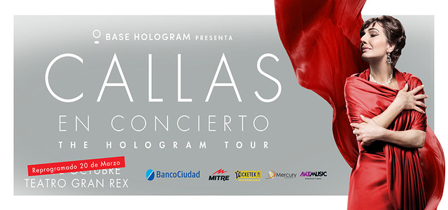 María Callas en el Teatro Gran Rex