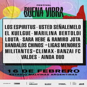 Festival Buena Vibra en el Estadio Malvinas Argentinas