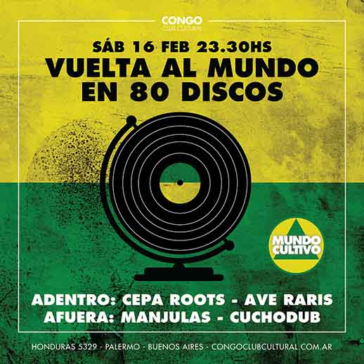 Roots Rock Reggae en Congo Club Cultural