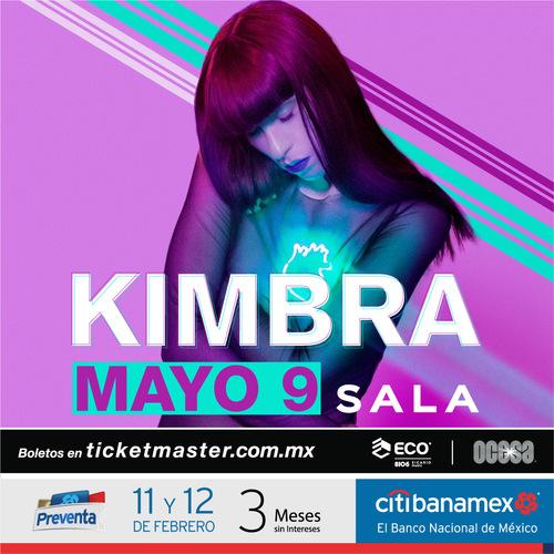 Kimbra en México