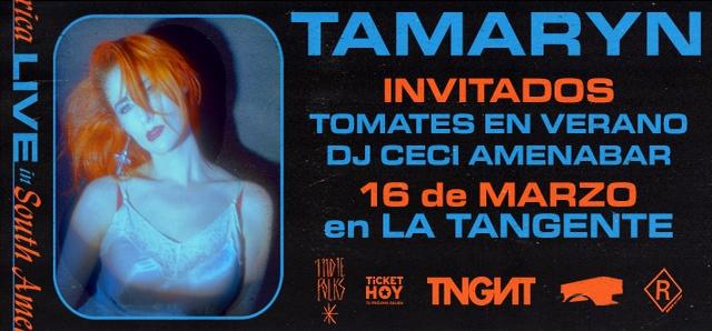 Tamaryn en Argentina