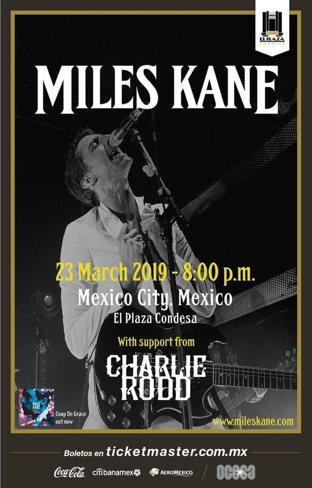 Miles Kane en México