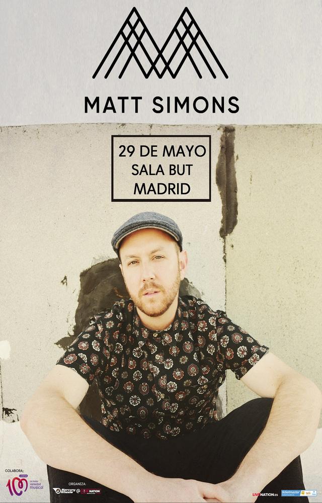 Matt Simons en Madrid