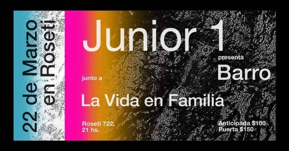 Junior 1 + La Vida en Familia en Roseti