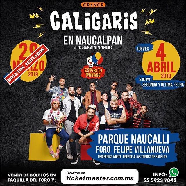 Los Caligaris en México