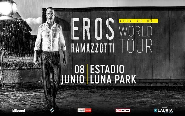 Eros Ramazzotti en el Luna Park