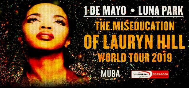 Lauryn Hill en el Luna Park - CANCELADO