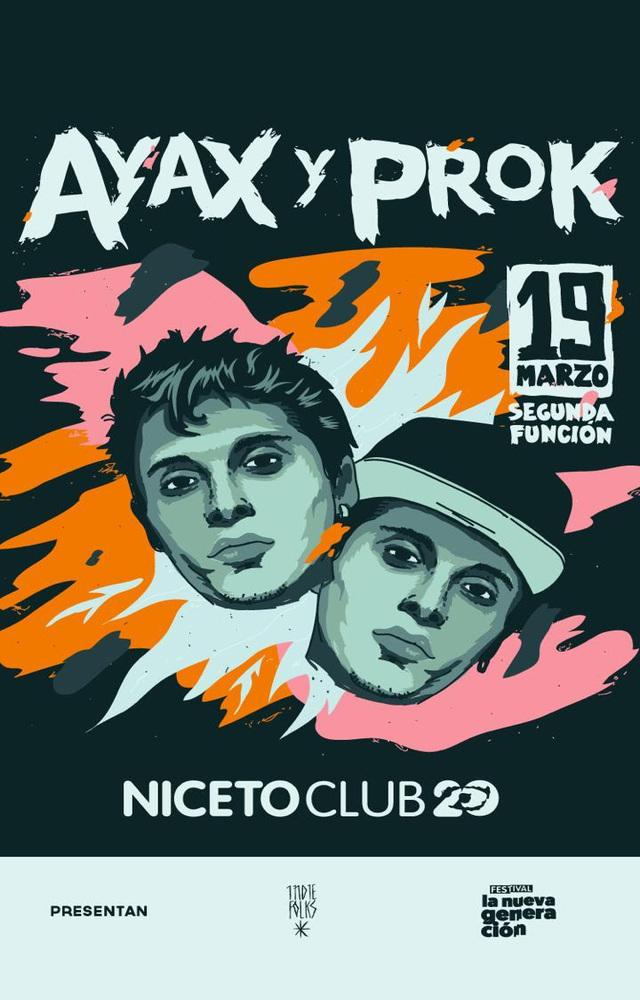 Ayax y Prok en Niceto Club
