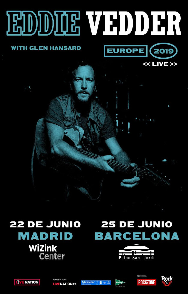 Eddie Vedder en Madrid