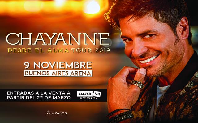 Chayanne en Argentina