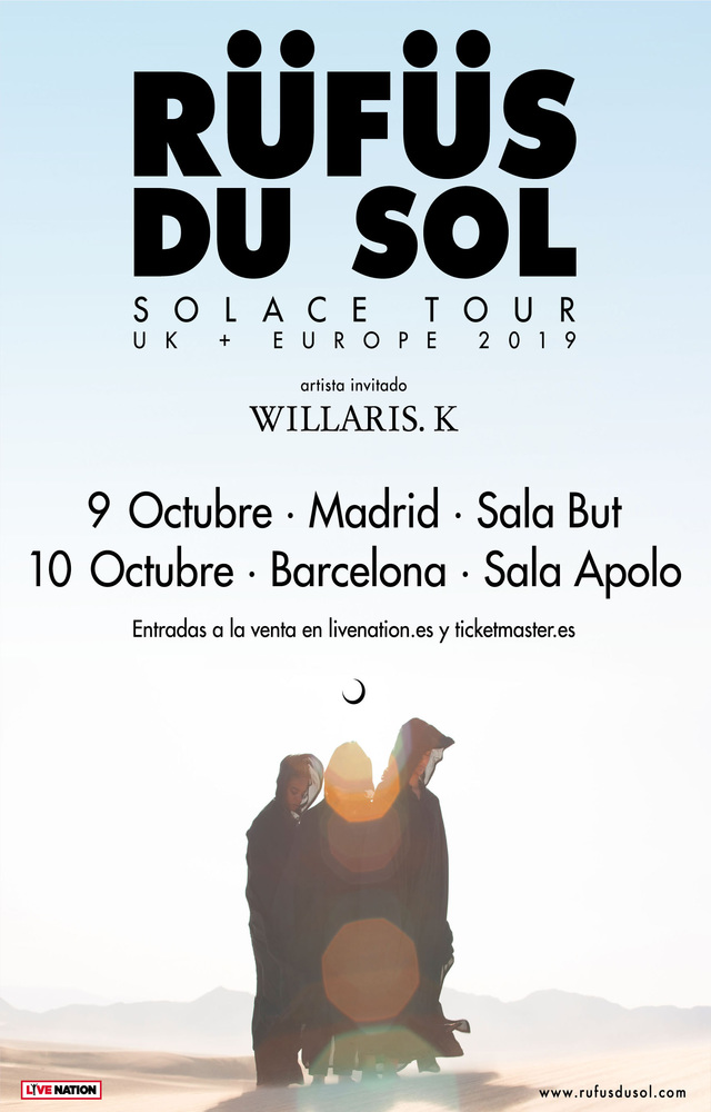 Rüfüs Du Sol en Madrid
