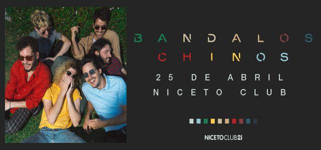Bandalos Chinos en Niceto Club