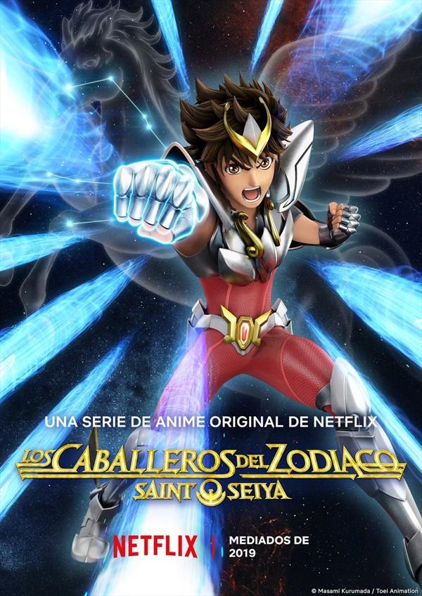 LOS CABALLEROS DEL ZODIACO NETFLIX 2020 - Page 2 Caballeros-del-zodiaco-saint-seiya-poster