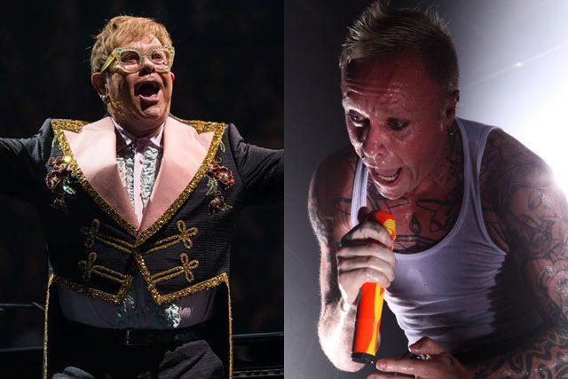 """Elton John homenajea a The Prodigy:""""Son una de las bandas inglesas más originales"""""""