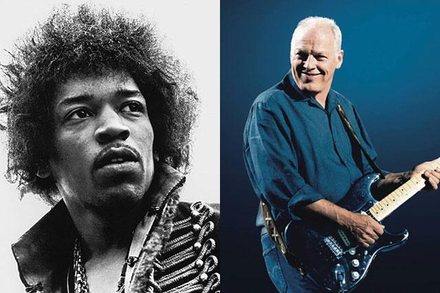 El día que David Gilmour fue técnico de guitarras de Jimi